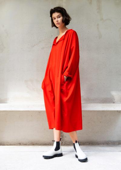 Sofie D Hoore Red Dress 4810Kopie
