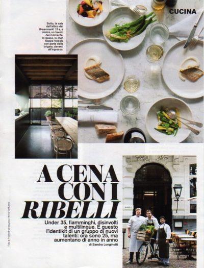 D La Repubblica N 976 26 02 2016 Kitchen Rebels 1