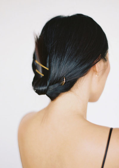 Double hairpin (available in 3 colours) by Sylvain Le Hen
