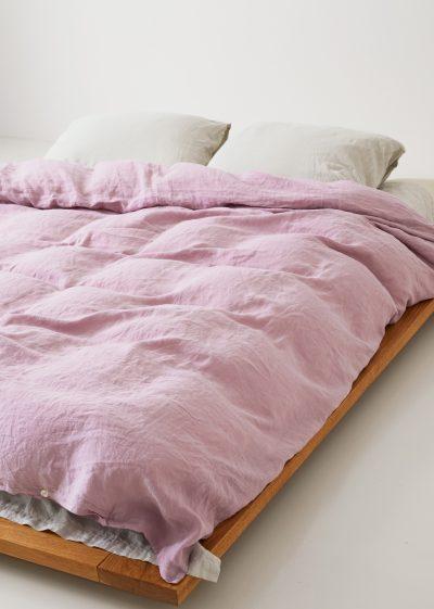 Linen Duvet Cover 240x220 cm by Tekla Fabrics