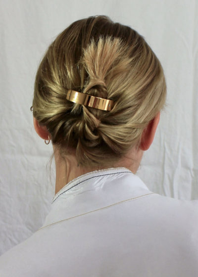Small ponytail hair clip by Sylvain Le Hen