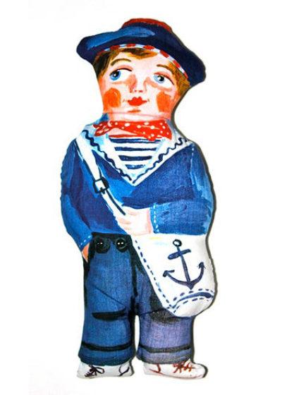 'Sam the sailor' doll by Nathalie Lété x Design Farm Productions