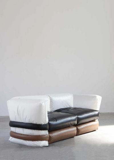 The Pillow Sofa (2-seater with sides) by KASSL Editions X Muller Van Severen