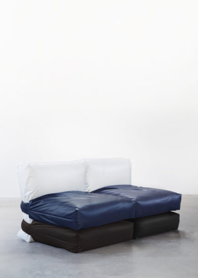 The Pillow Sofa (2-seater) by KASSL Editions X Muller Van Severen