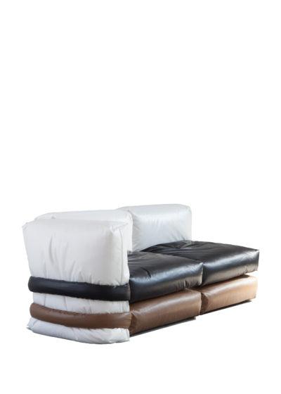 The Pilow Sofa (2-seater corner) by KASSL Editions X Muller Van Severen