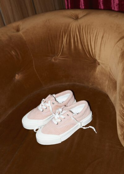 Opal corduroy sneakers (two colors) by Good News