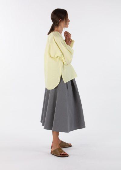'Star' Skirt in Black by Sofie D'hoore