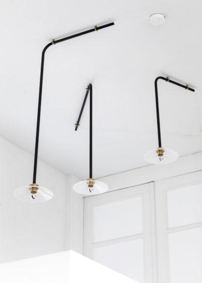 Ceiling lamp no 3 black by Muller van Severen for valerie_objects