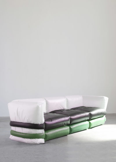 The Pillow Sofa (3-seater with sides) by KASSL Editions X Muller Van Severen