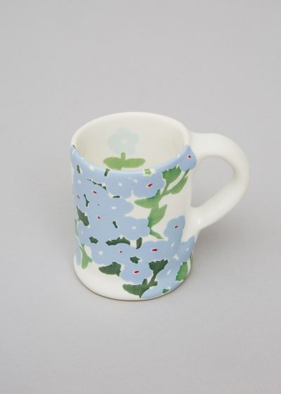 Wide ceramic mug (available in 3 colours) by Bernadette