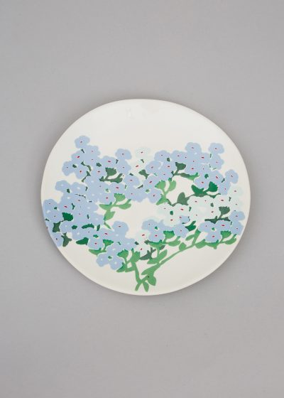 Ceramic side plate (available in 3 colours) by Bernadette