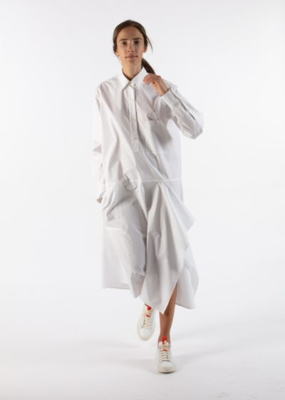 'Dally' Dress in White by Sofie D'hoore