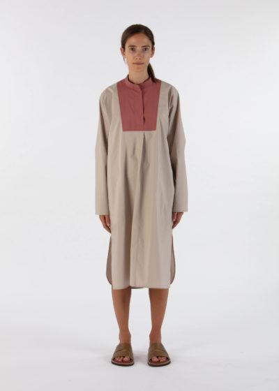 'Dimitri' Dress in Terracotta by Sofie D'hoore