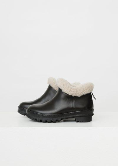 'Garden' boots with sheepskin by Legres