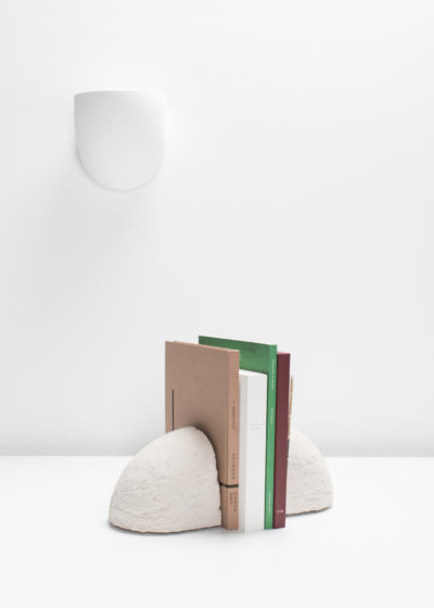 White brick bookend by Destroyers/Builders