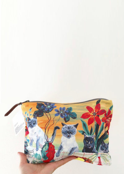 Art purse (available in 3 prints) by Nathalie Lété x Design Farm Productions