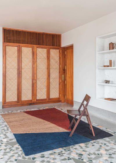 Medium 'Aero' jute rug  (152 x 228cm) by Case Goods