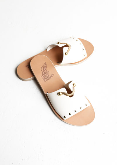 'Siriti Kalomira' Sandals in offwhite by Ancient Greek Sandals