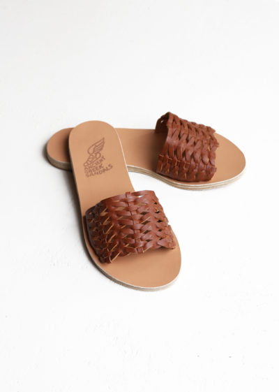 Taygete sandals cotto by Ancient Greek Sandals