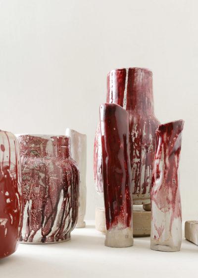 Large 'Tengel' vase by Antoine Vandewoude