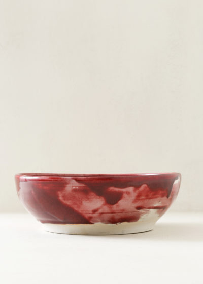 Large ceramic bowl by Antoine Vandewoude