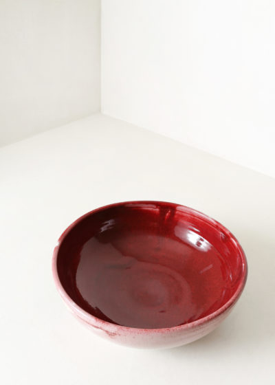 Large ceramic bowl by Antoine Vandewoude