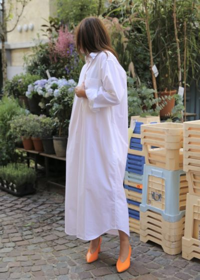 Oversized ankle shirt with pockets by Appletrees