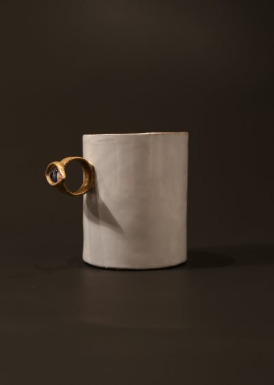 Large 'cyclops' cup by Astier de Villatte