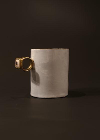 Large 'right eye' cup by Astier de Villatte