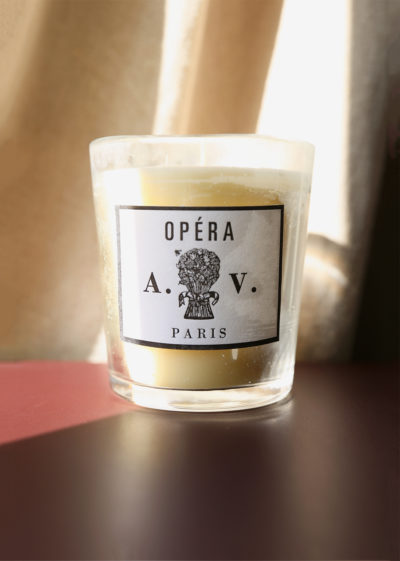 Opéra scented candle by Astier de Villatte