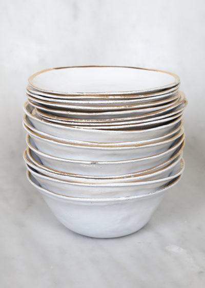 Cresus soup bowl by Astier de Villatte
