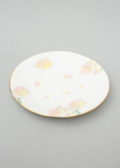 Ceramic dinner plate (available in 3 colours) by Bernadette