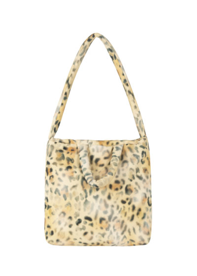 Pillow bag M in leopard by KASSL editions