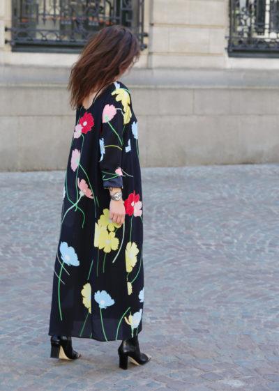 Silk floral 'Katy' dress by Bernadette