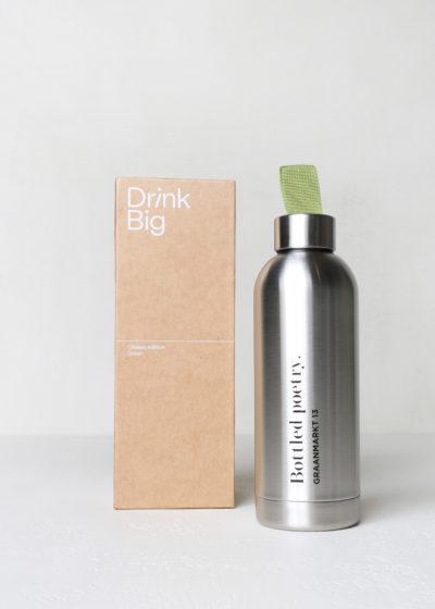 'Bottled Poetry' bottle by Drink Big
