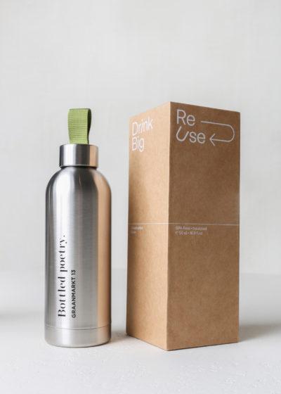 'Bottled Poetry' bottle
