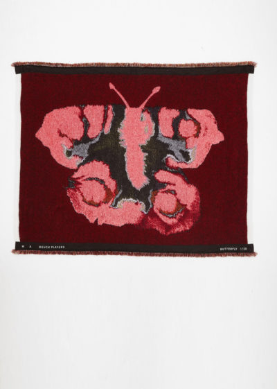 Bench player 'Butterfly' Wall Hanging by Wild Animals