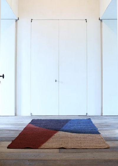 'Bend' Jute Rug (122 x 183 cm) by Case Goods