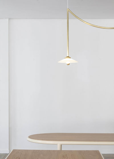 Ceiling lamp No 5 messing by Muller van Severen for valerie_objects