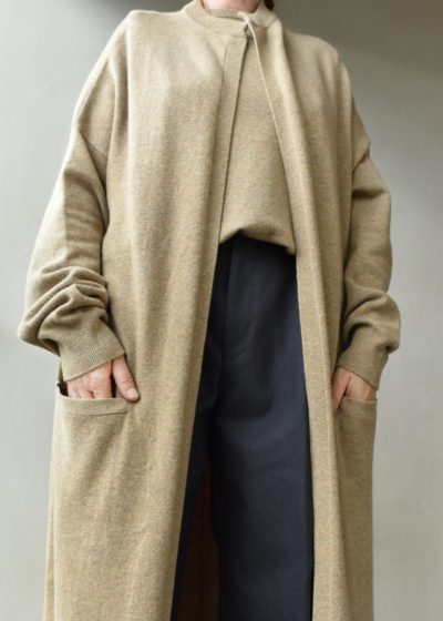 N° 105 'Big Coat' oversized cardigan by Extreme Cashmere