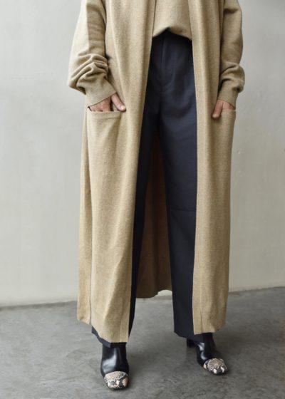 N° 105 'Big Coat' oversized cardigan by Extreme Cashmere