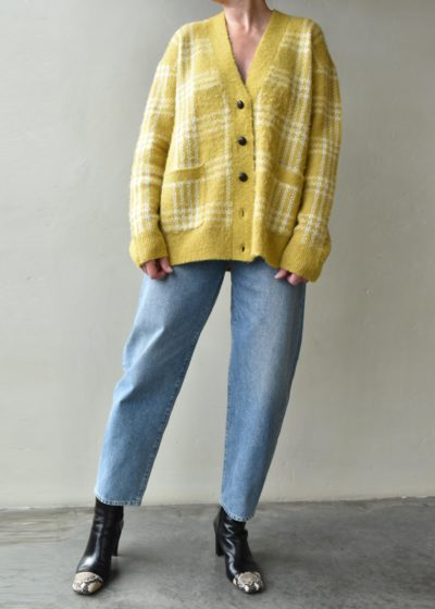 'Marigold' oversized cardigan by Re/done