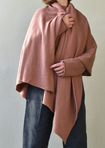 N°60 'Wrap' scarf by Extreme Cashmere