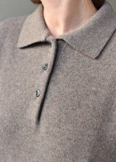 N°153 'Bizar' polo by Extreme Cashmere