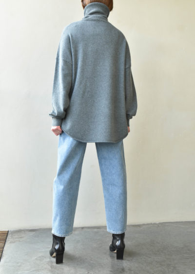 N°52 'Roll' jumper by Extreme Cashmere