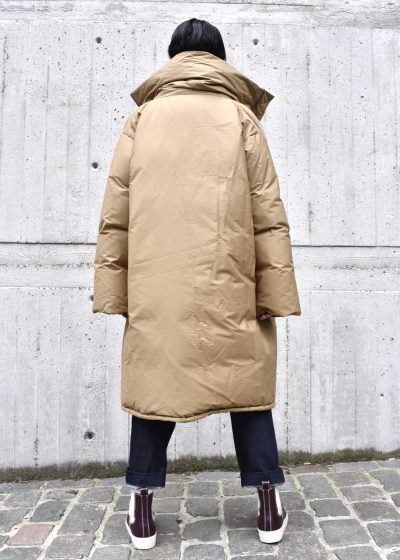 Down-filled 'One' coat by Sofie D'hoore