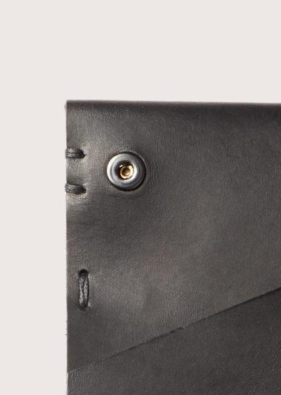 Hand sewn rectangular wallet by Feit