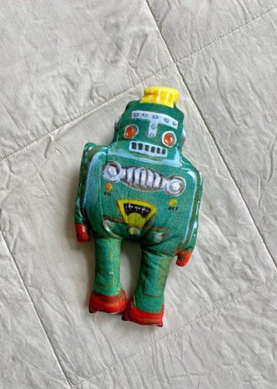 Robot doll by Nathalie Lété x Design Farm Productions