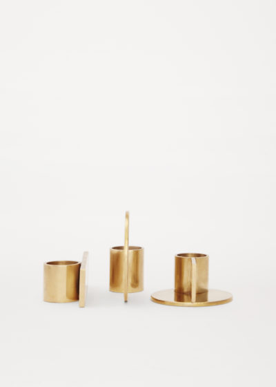 Fundament candle holders (set of 3) by Frama