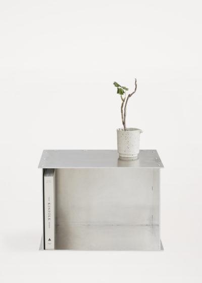 Rivet box table by Frama